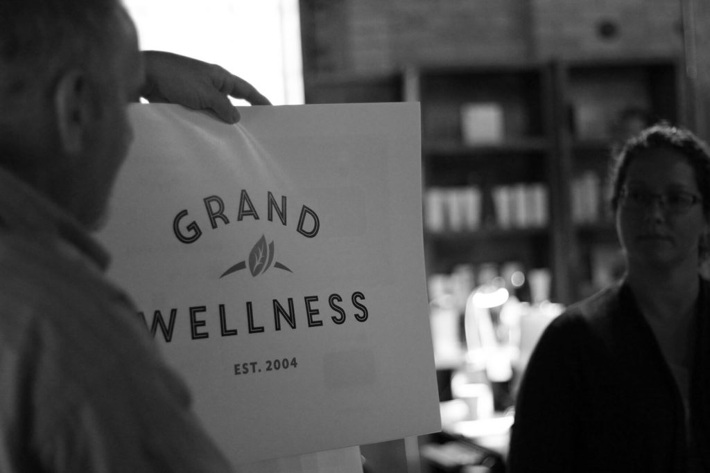 Grand Wellness Centre Grand Opening Brantford Ontario Spa New Logo Unveiling